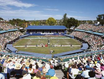 Australian Open in Kooyong: Erst Holzkiste, jetzt Schmuckkästchen