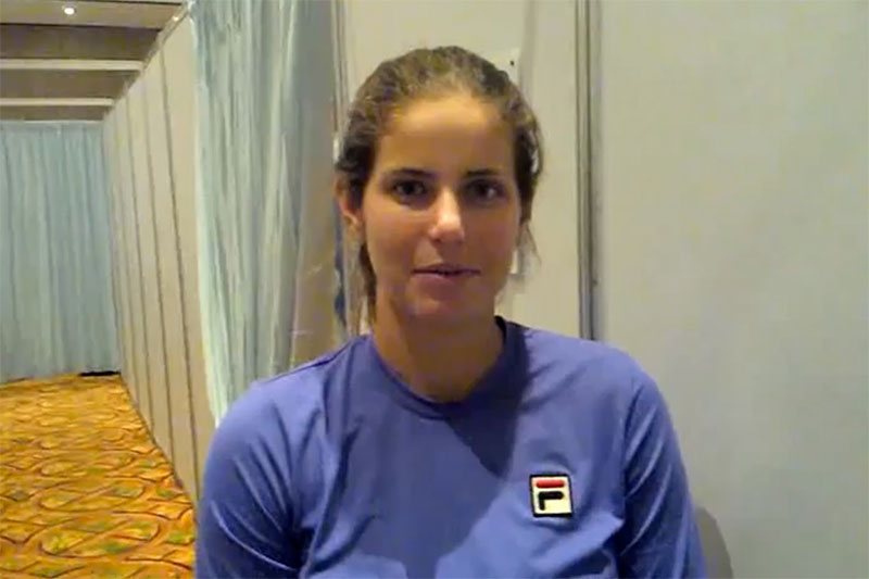 Julia Gorges Im Interview Tennis Magazin