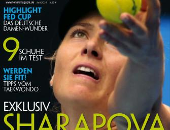 Juni 2014: Maria Sharapova: Champion, Werbestar, Traumfrau