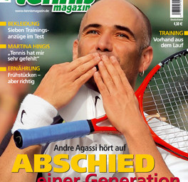 September 2006: Andre Agassi  Abschied einer Generation