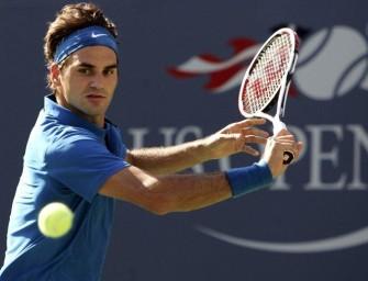 Federer nach Startschwierigkeiten weiter