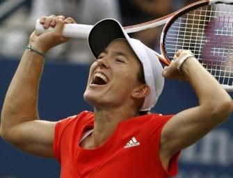 Henin folgt Kusnezowa ins Finale der US Open