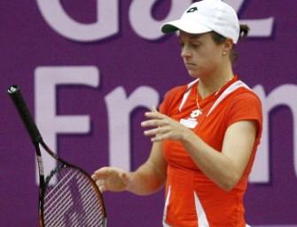 Martina Müller unterliegt im Eröffnungeinzel
