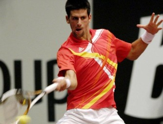 Djokovic sichert sich Sieg in Wien