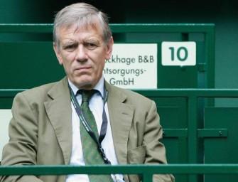 Tennis-Affären sorgen DTB-Präsident von Waldenfels