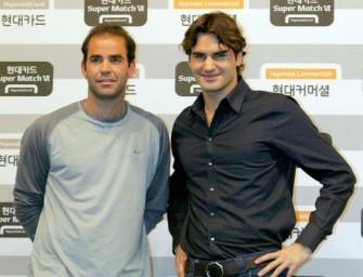 """Federer dominiert Sampras im """"Duell der Zeiten"""""""