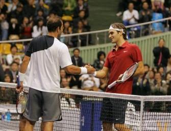 Sampras zieht gegen Federer erneut den Kürzeren