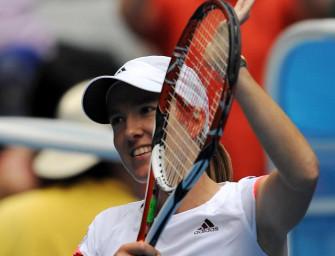 Henin und Scharapowa eilen ins Viertelfinale