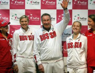 Scharapowa führt Russland ins Fed-Cup-Halbfinale