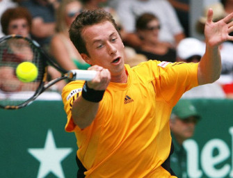 Kohlschreiber bestreitet erstes Davis-Cup-Einzel