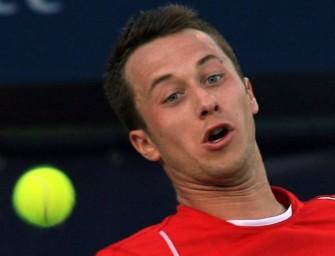 Kranker Kohlschreiber ohne Chance gegen Djokovic