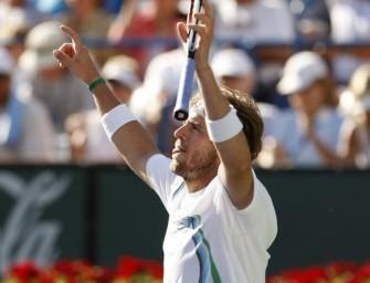Fish macht kurzen Prozess mit Federer