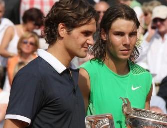 Federer und Nadal fokussiert auf die Rasenserie
