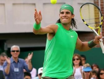 Rafael Nadal auch auf Rasen weiter erfolgreich