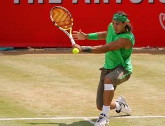 Federer hat Respekt vor Nadals Rasenkünsten