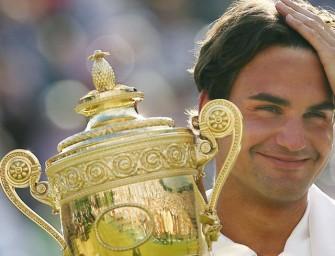 Federer kann in Wimbledon Geschichte schreiben