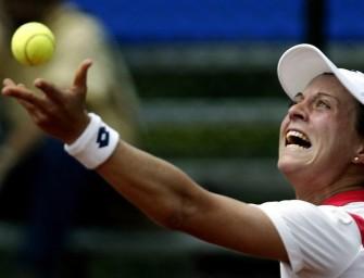 Julia Görges in Wimbledon in Runde zwei