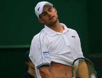 Roddick in Wimbledon überraschend ausgeschieden