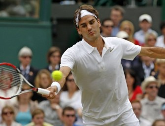 Federer gibt sich in Wimbledon keine Blöße