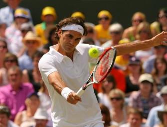 Auch Hewitt kann Federer nicht stoppen
