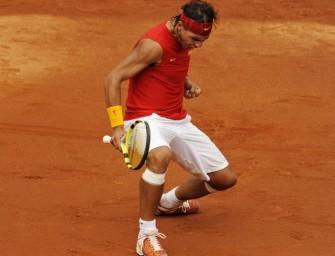 Spanien dank Nadal im Davis-Cup-Finale