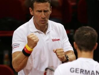 Deutsches Davis-Cup-Team gegen Österreich