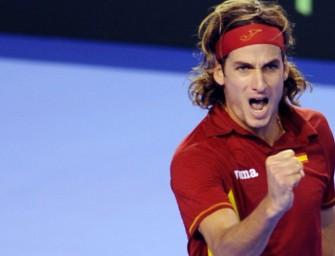 Feliciano Lopez gleicht für Spanien aus