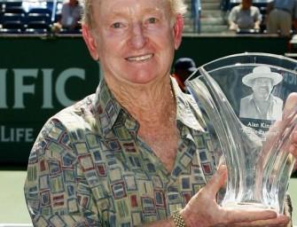 Australien feiert Tennis-Held Rod Laver