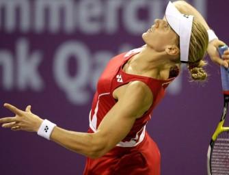 WTA-Turnier in Stuttgart mit Dementiewa