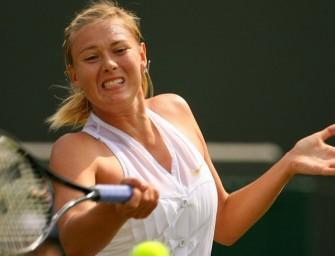 Scharapowa vor Comeback in Indian Wells