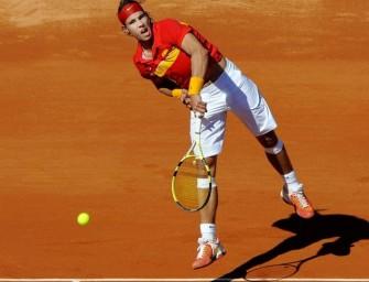 Spanien steht im Viertelfinale des Davis Cups