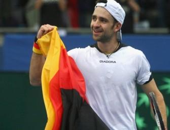 Davis-Cup-Team durch Kiefer-Sieg im Viertelfinale