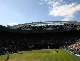 Center Court-Eröffnung in Wimbledon ausverkauft
