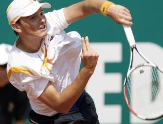 Beck weiter, Federer unterliegt Wawrinka