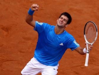 Djokovic trifft im Finale von Rom auf Nadal