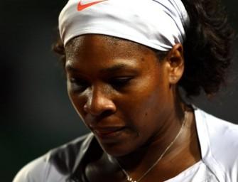 Serena Williams überraschend gescheitert