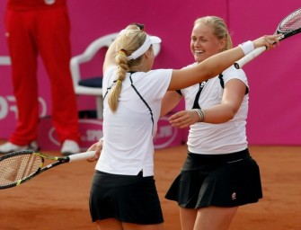 Lisicki und Grönefeld erreichen Viertelfinale