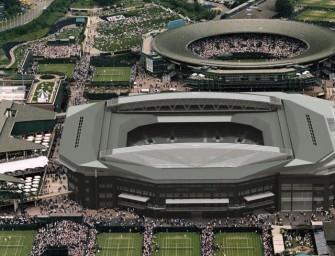 Wimbledon: Einweihung der Center Court Überdachung
