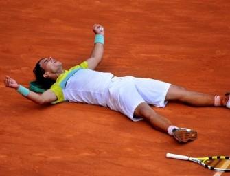 Nadal im Endspiel von Madrid