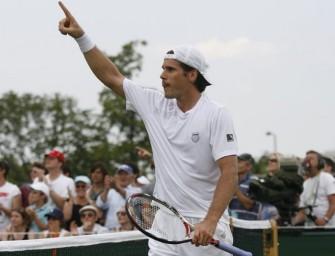 Haas steht im Viertefinale von Wimbledon