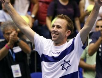 Israel mit einem Bein im Davis-Cup-Halbfinale