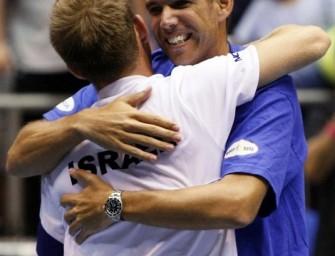 Israel erreicht erstmalig das Davis-Cup-Halbfinale
