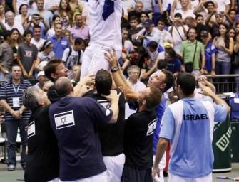 Davis-Cup: Tschechien, Israel und Kroatien weiter