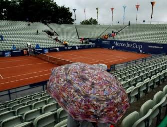 Regen stoppt Kiefer und Zverev in Stuttgart