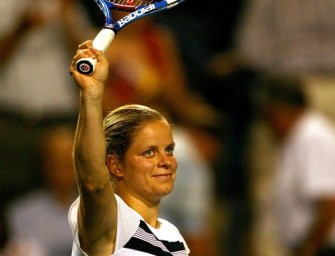 Kim Clijsters überzeugt bei Comeback