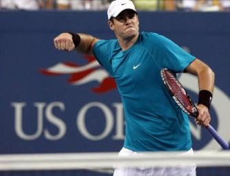 Isner wirft Landsmann Roddick aus dem Turnier