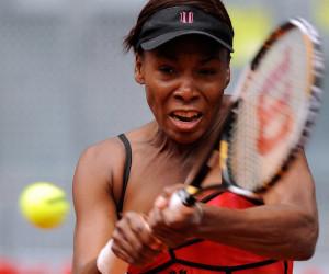 Für Venus Williams setzte es eine Klatsche gegen Sabine Lisicki