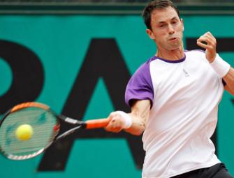 French Open: Greul-Match wegen Regens abgebrochen