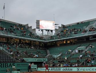 French Open flirten mit Micky Maus