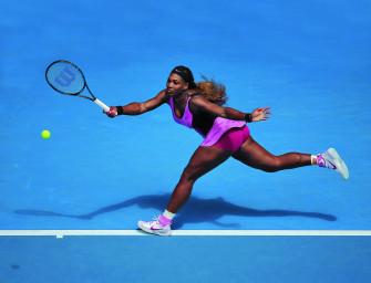 Serena Williams: Einen Schritt voraus